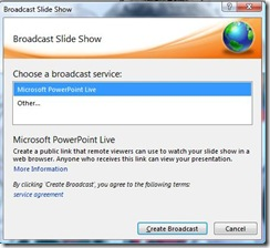 Powerpoint 2010 Broadcast 2