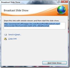 Powerpoint 2010 Broadcast 3