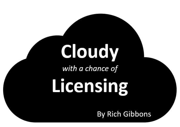 Cloudy with a chance of Licensing